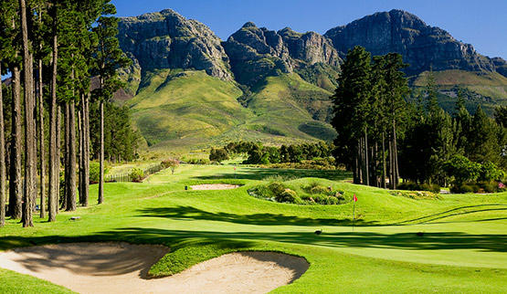 Cape Winelands golf hotels.