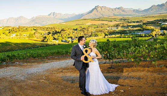 Cape Winelands Hotel wedding venues.
