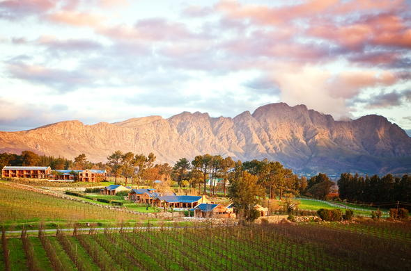 La Residence located in the beautiful Franschhoek Valley.