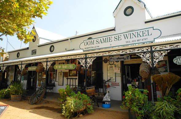 Visit the quaint shops in Stellenbosch.