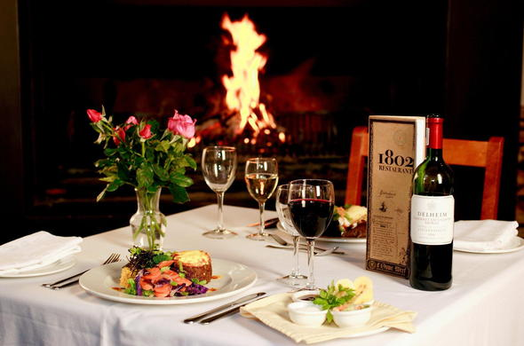 Gourmet Dining in the Cape Winelands.