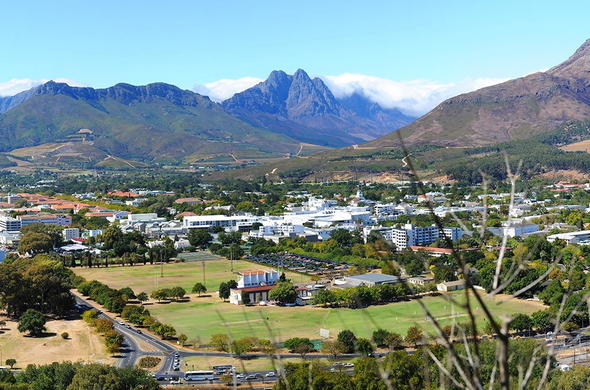 Oude Werf Hotel is situated in Stellenbosch.
