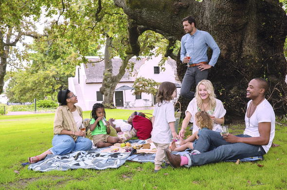 Spoil the family with a picnic at Spier Hotel.