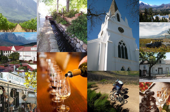 Stellenbosch attractions and places to visit.