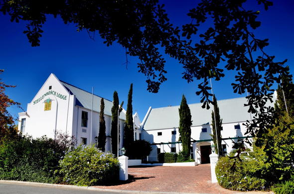 Exterior view of Stellenbosch Lodge Country Hotel & Conference Centre.